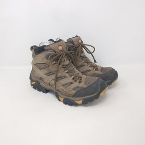 Merrell Vibram Sole Suede Hiking Boots Women's 9.5